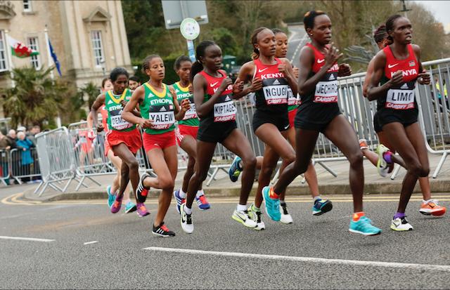 Championnats du monde - Semi-marathon F - 2016