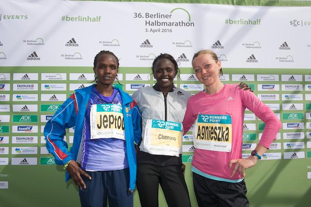 Semi-marathon de Berlin 2016