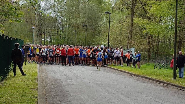 Challenge de jogging du Brabant Wallon à Wauthier-Braine 2016