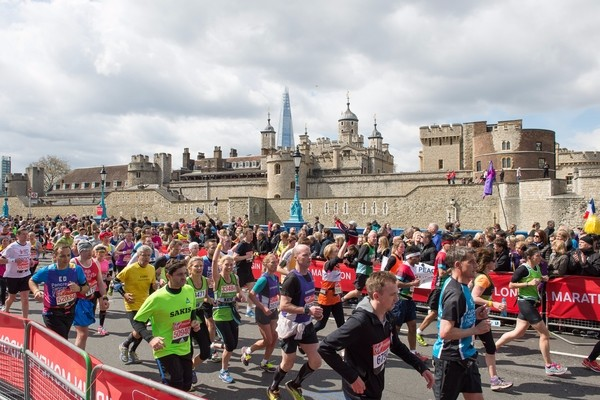 London Marathon 2016 - Castle