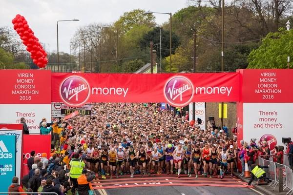 London Marathon 2016 - Start