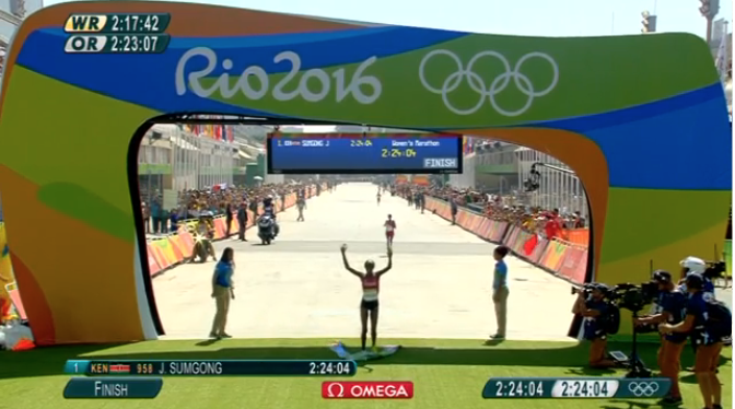 J.O. Rio 2016 - Marathon F 1