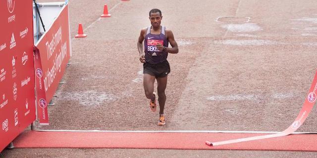 Kenenisa Bekele - Marathon de Londres